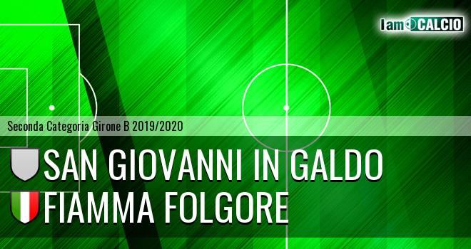 San Giovanni in Galdo - Fiamma Folgore