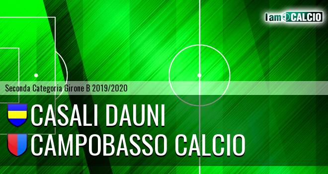Casali Dauni - Campobasso Calcio