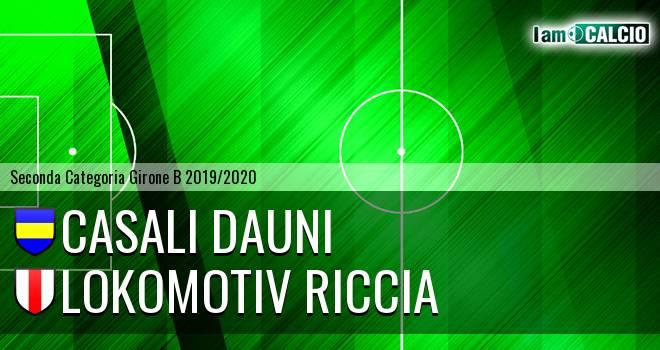 Casali Dauni - Lokomotiv Riccia