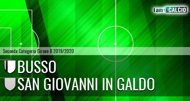 Busso - San Giovanni in Galdo