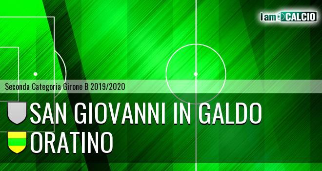 San Giovanni in Galdo - Oratino