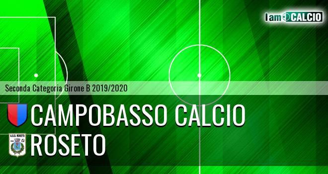 Campobasso Calcio - Roseto