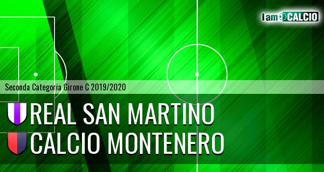 Real San Martino - Calcio Montenero