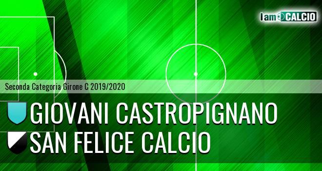 Giovani Castropignano - San Felice Calcio