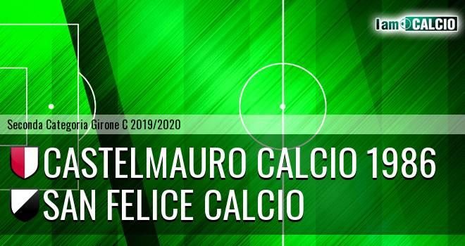 Castelmauro Calcio 1986 - San Felice Calcio