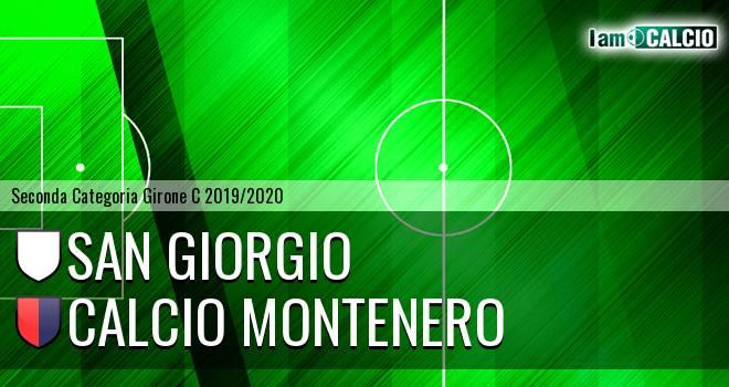San Giorgio - Calcio Montenero