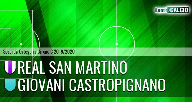 Real San Martino - Giovani Castropignano