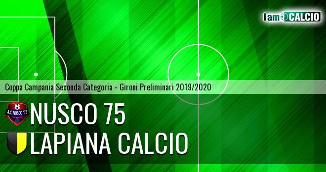 Nusco 75 - Lapiana Calcio