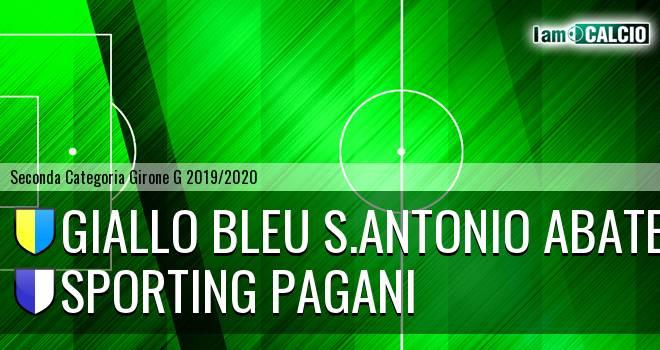 Giallo Bleu Gragnano - Sporting Pagani