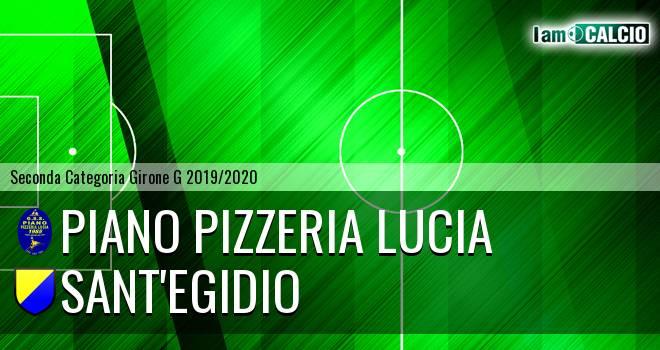 Piano Pizzeria Lucia - Sant'Egidio