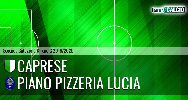 Caprese - Piano Pizzeria Lucia