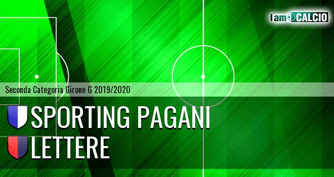 Sporting Pagani - Lettere