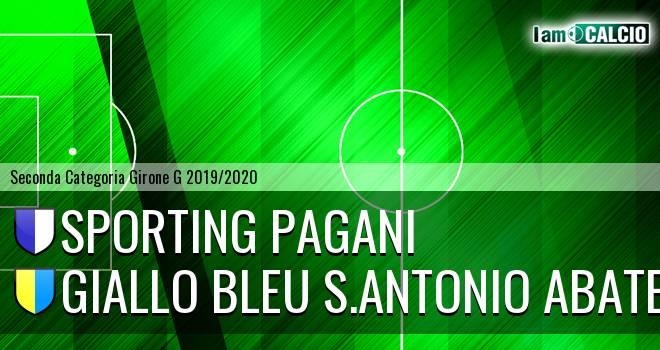 Sporting Pagani - Giallo Bleu Gragnano
