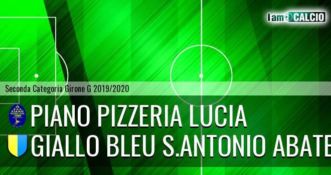 Piano Pizzeria Lucia - Giallo Bleu Gragnano