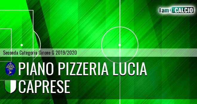Piano Pizzeria Lucia - Caprese