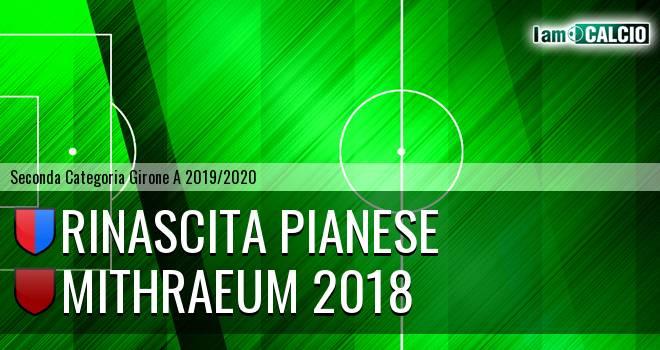 Rinascita Pianese - Mithraeum 2018