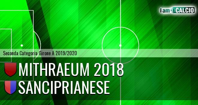 Mithraeum 2018 - Sanciprianese