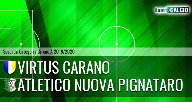 Virtus Carano - Atletico Nuova Pignataro