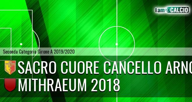 Sacro Cuore Cancello Arnone - Mithraeum 2018