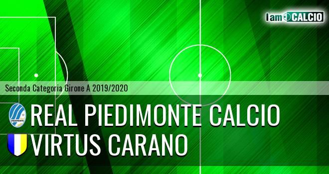 Real Piedimonte Calcio - Virtus Carano