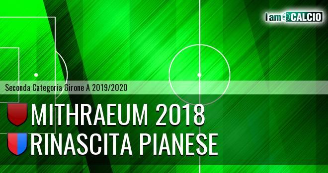 Mithraeum 2018 - Rinascita Pianese