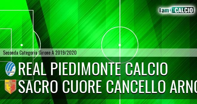 Real Piedimonte Calcio - Sacro Cuore Cancello Arnone