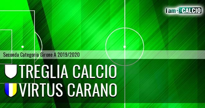 Treglia Calcio - Virtus Carano