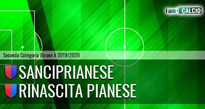 Sanciprianese - Rinascita Pianese