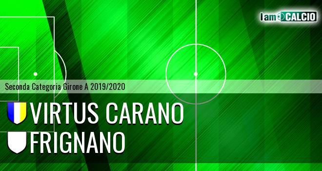 Virtus Carano - Frignano