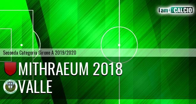 Mithraeum 2018 - Valle