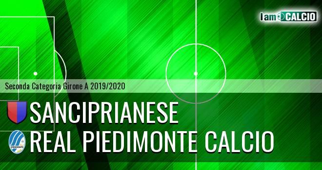 Sanciprianese - Real Piedimonte Calcio