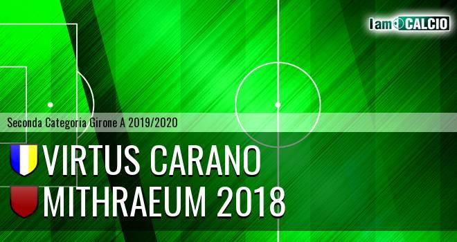 Virtus Carano - Mithraeum 2018
