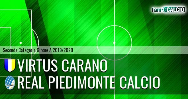 Virtus Carano - Real Piedimonte Calcio