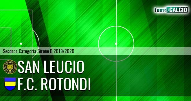 San Leucio - F.C. Rotondi