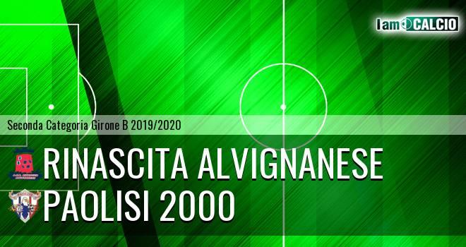 Rinascita Alvignanese - Paolisi 2000
