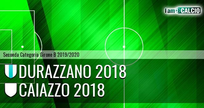 Durazzano 2018 - Caiazzo 2018