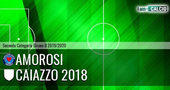 Amorosi - Caiazzo 2018