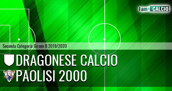 Dragonese Calcio - Paolisi 2000