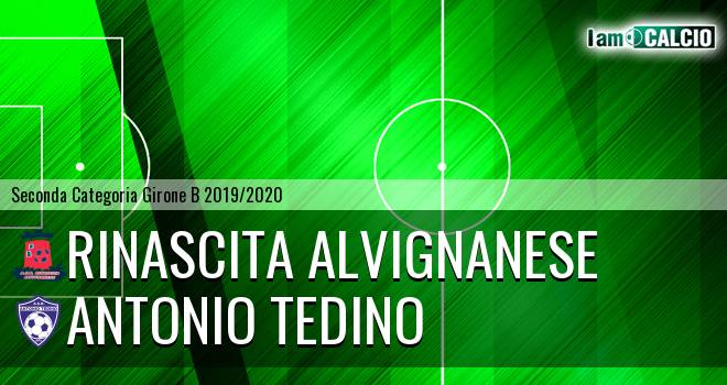 Rinascita Alvignanese - Antonio Tedino