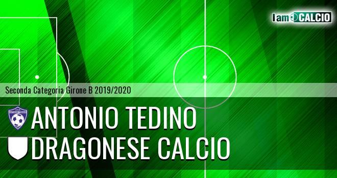 Antonio Tedino - Dragonese Calcio