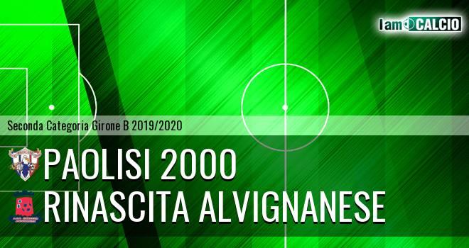 Paolisi 2000 - Rinascita Alvignanese