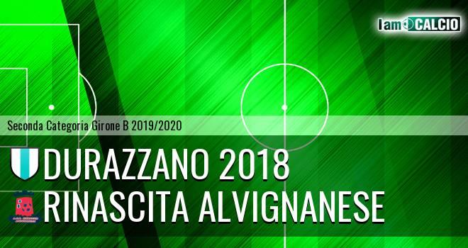 Durazzano 2018 - Rinascita Alvignanese