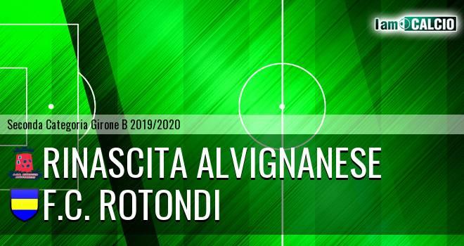 Rinascita Alvignanese - F.C. Rotondi
