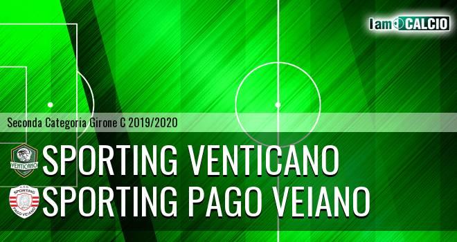 Sporting Venticano - Sporting Pago Veiano