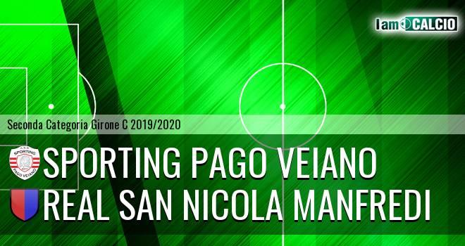 Sporting Pago Veiano - Real San Nicola Manfredi