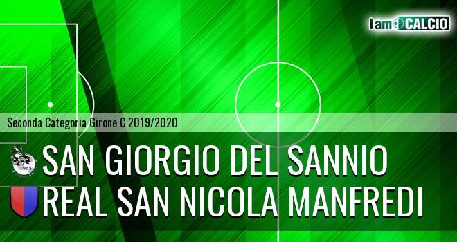San Giorgio del Sannio - Real San Nicola Manfredi