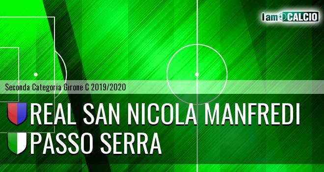 Real San Nicola Manfredi - Passo Serra