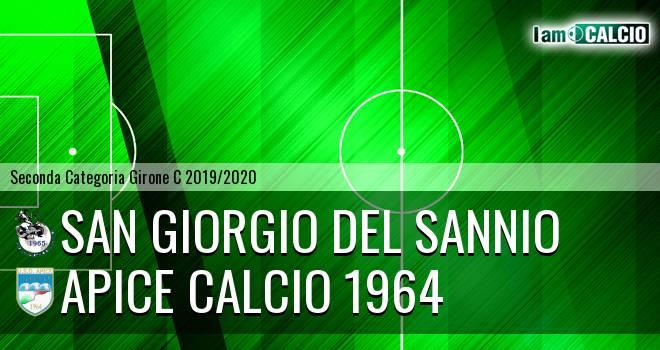 San Giorgio del Sannio - Apice Calcio 1964