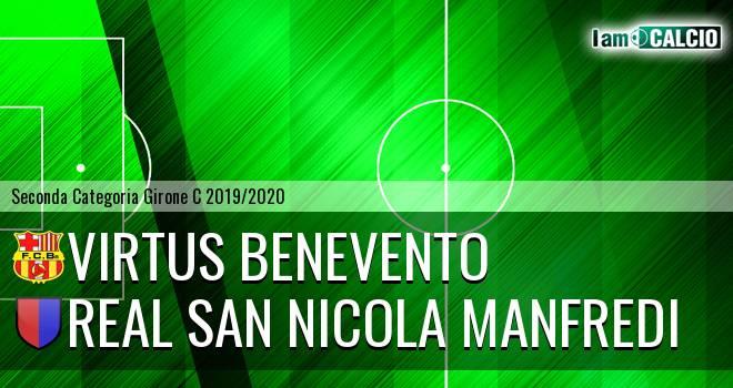 Virtus Benevento - Real San Nicola Manfredi