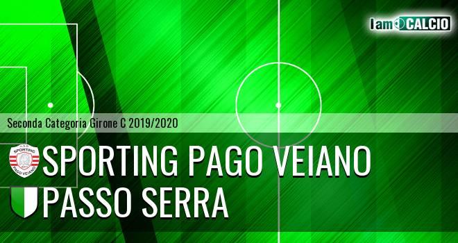 Sporting Pago Veiano - Passo Serra